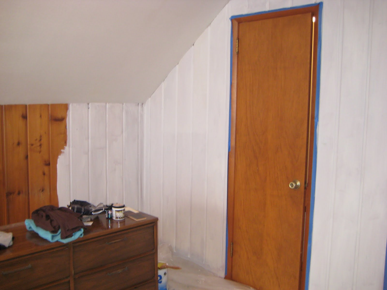 Can You Paint Over Wallpaper Paneling