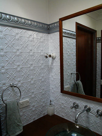 Can You Put Wallpaper In The Bathroom