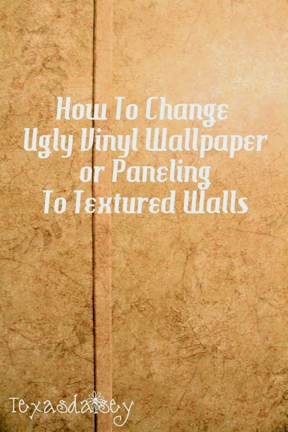 Can You Texture Over Wallpaper