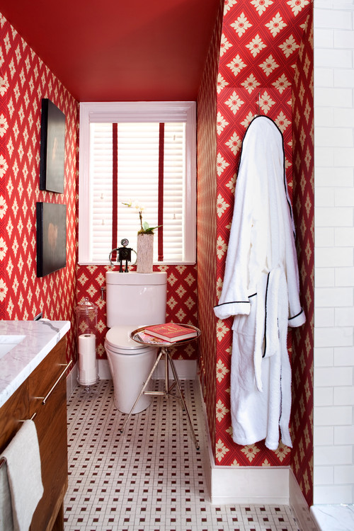 Can You Tile Over Wallpaper