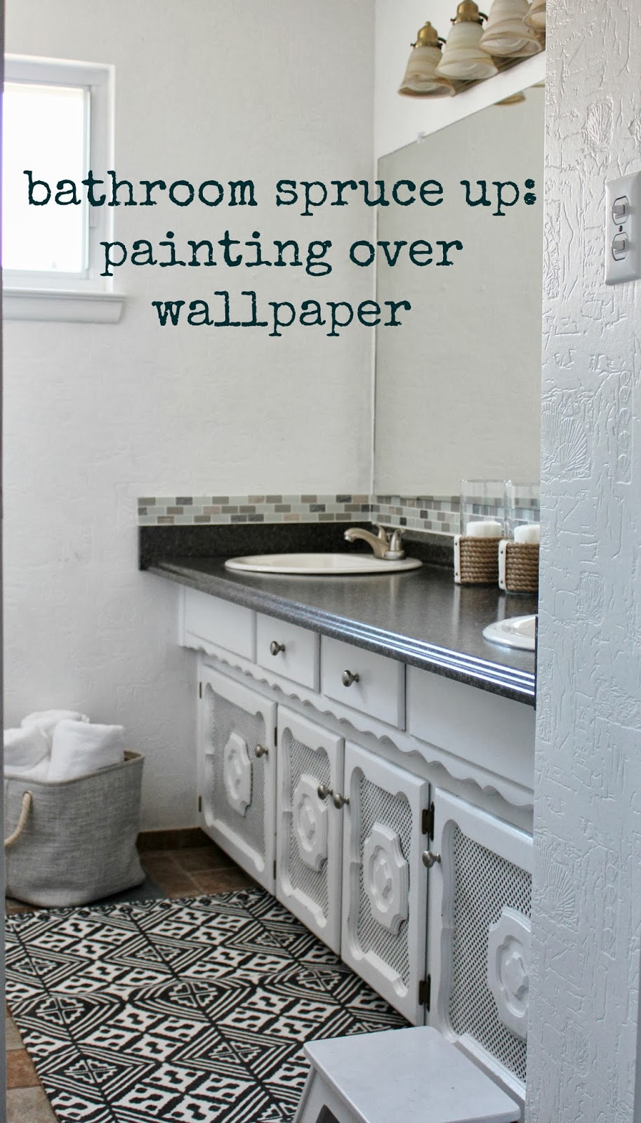 Download Can You Wallpaper Over Bathroom Tiles Gallery
