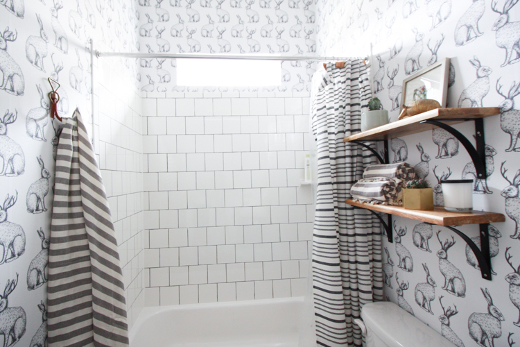 Can You Wallpaper Over Bathroom Tiles