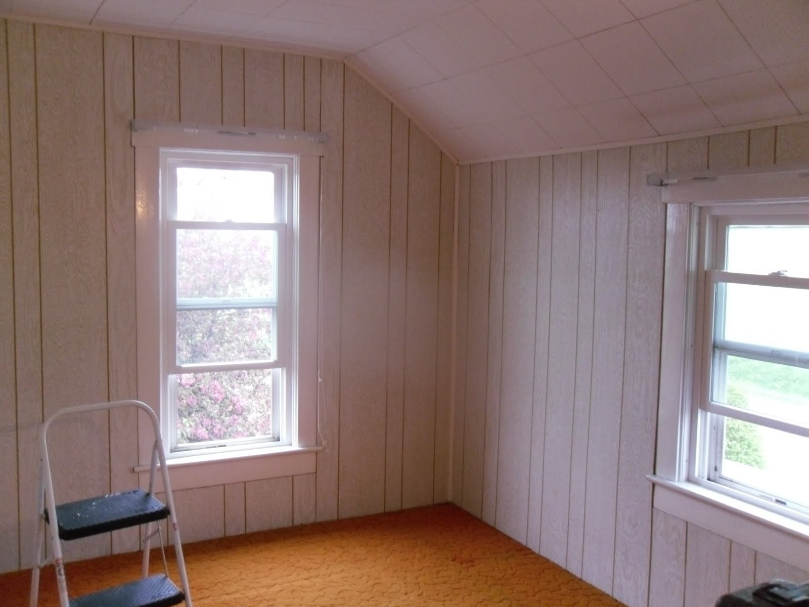 Can You Wallpaper Over Paneling