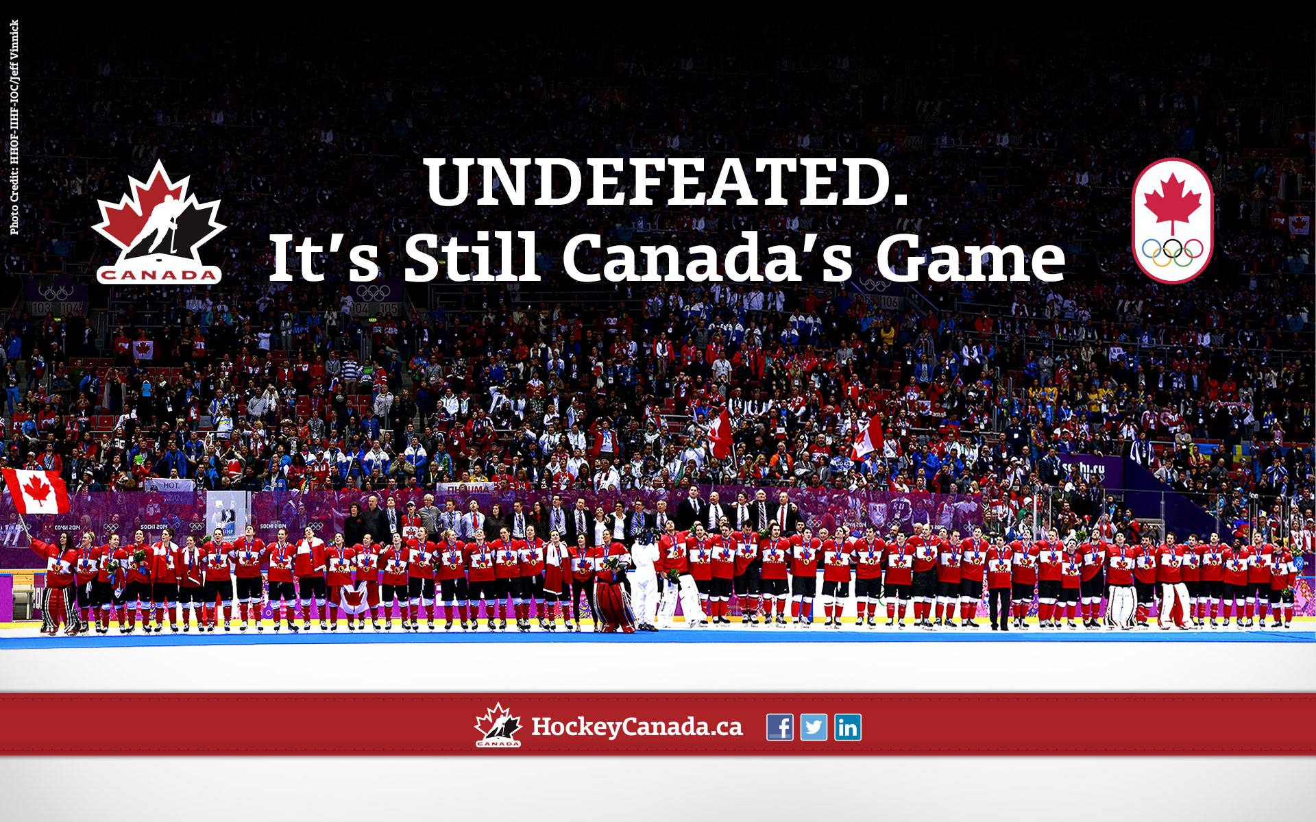 Canada Hockey Wallpaper