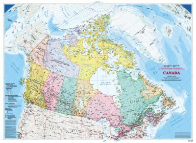 Canada Map Wallpaper