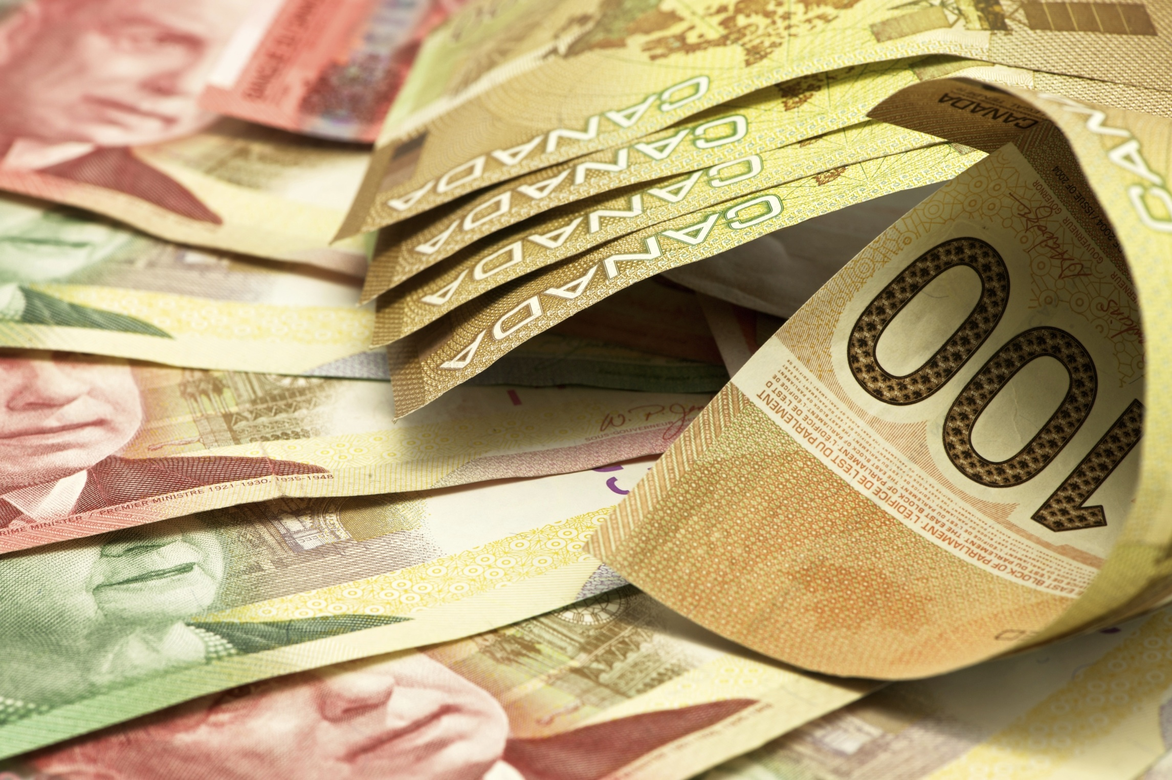 Canadian Money Wallpaper