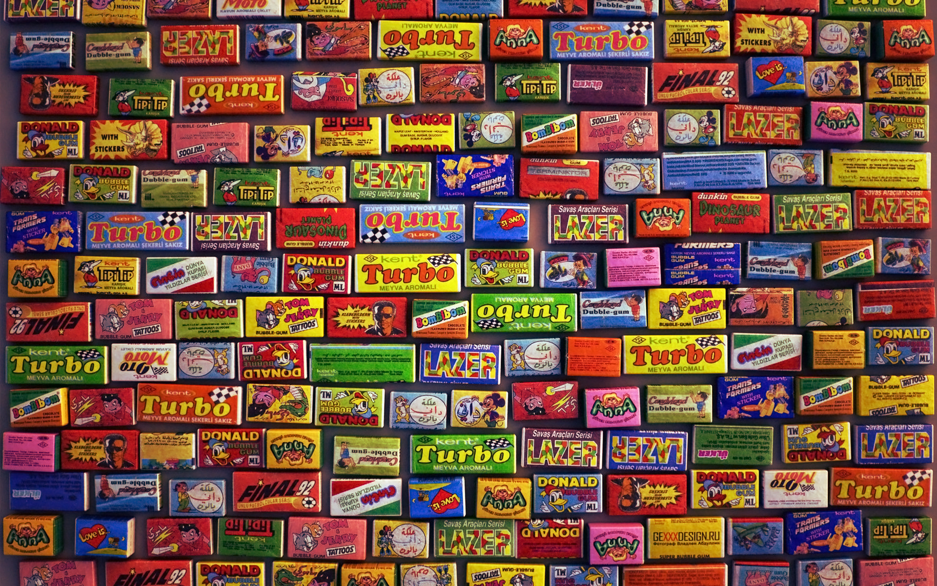 Candy Color Wallpaper