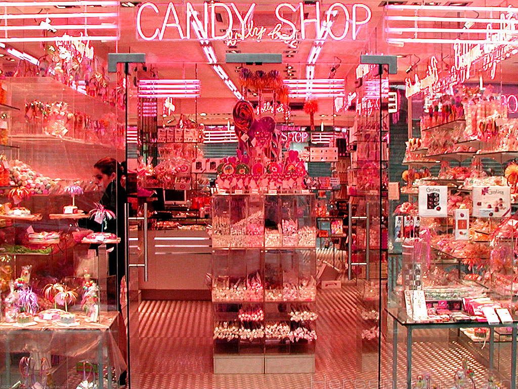 Candy Store Wallpaper