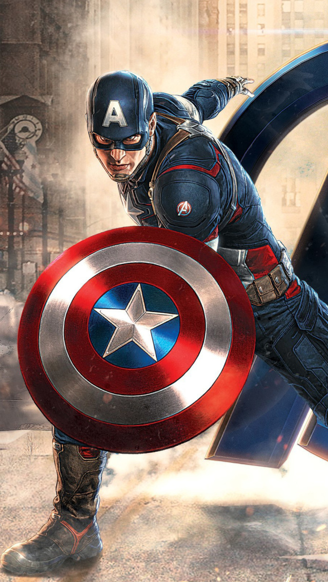 Captain America Iphone Wallpapers