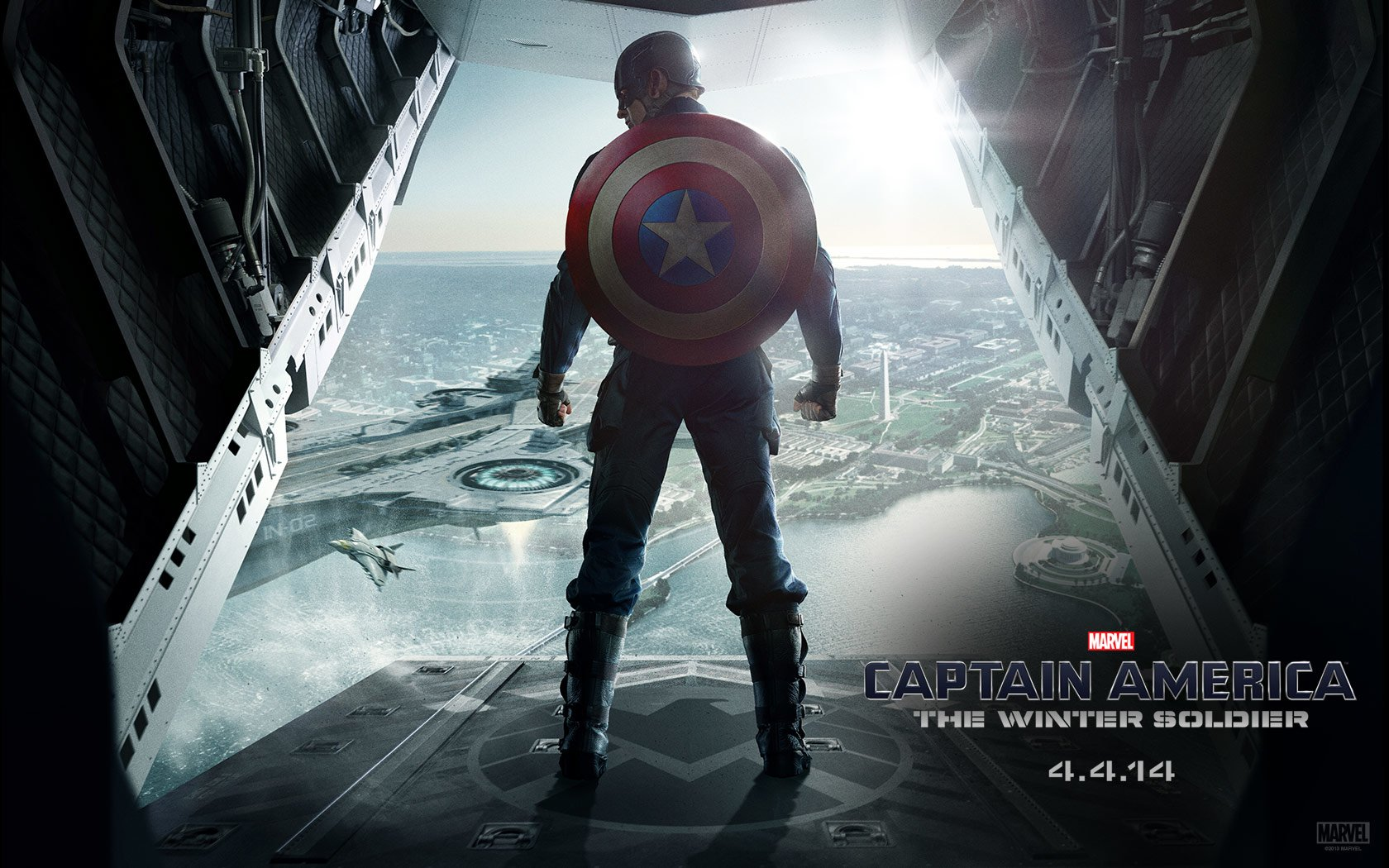 Captain America The Winter Soldier Wallpaper HD