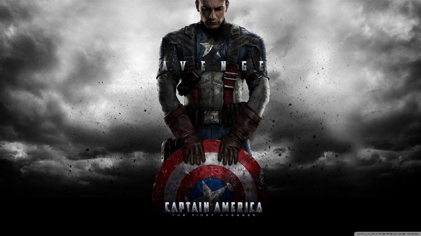 Captain America Wallpaper 1366x768