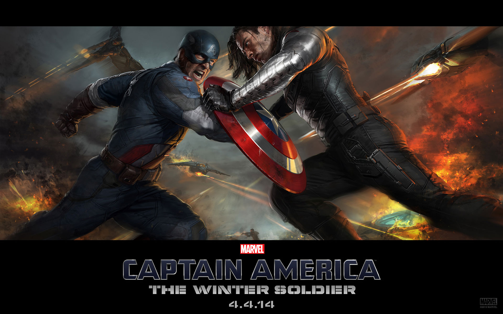 Captain America Winter Soldier Wallpaper