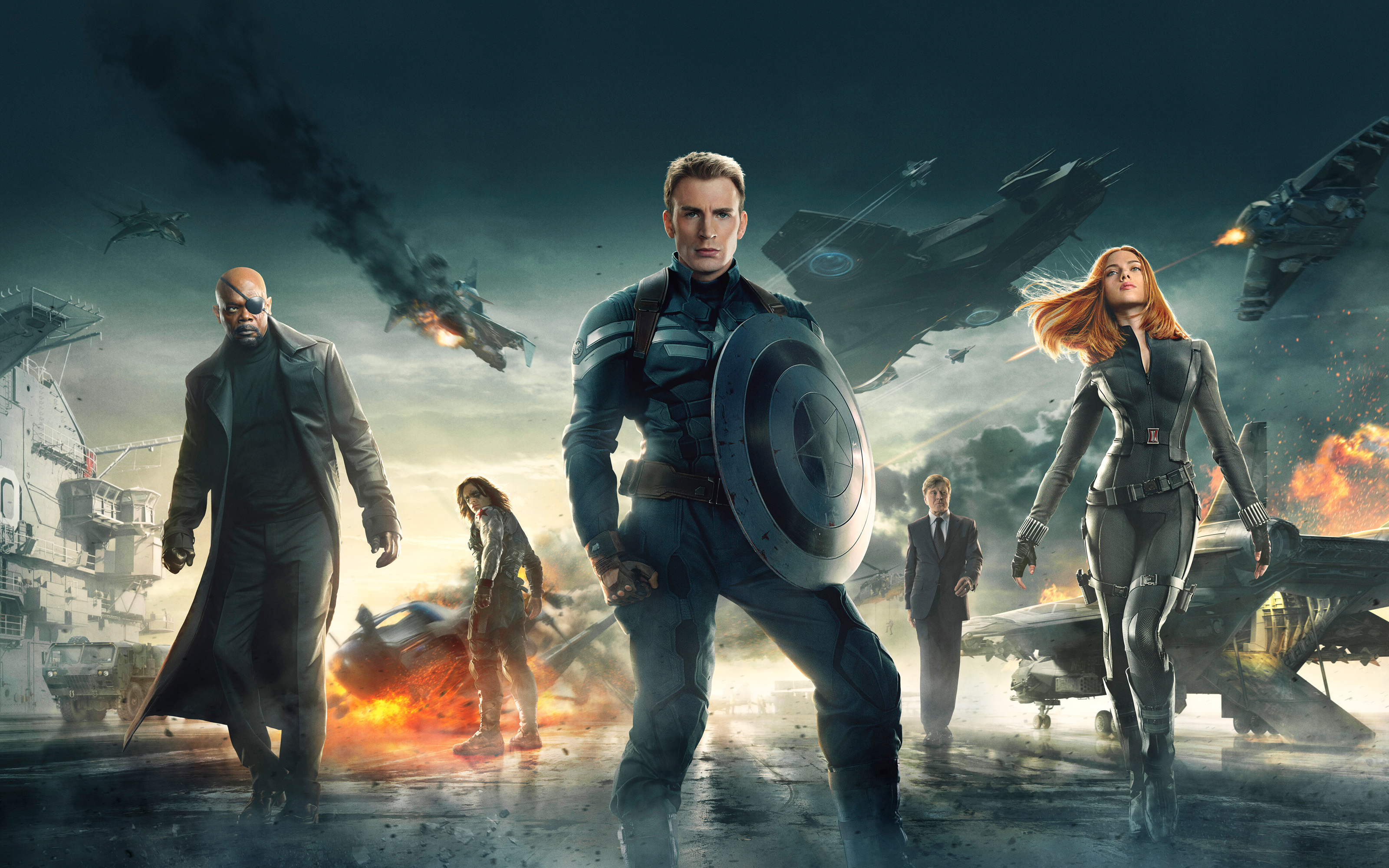 Captain America Winter Soldier Wallpapers