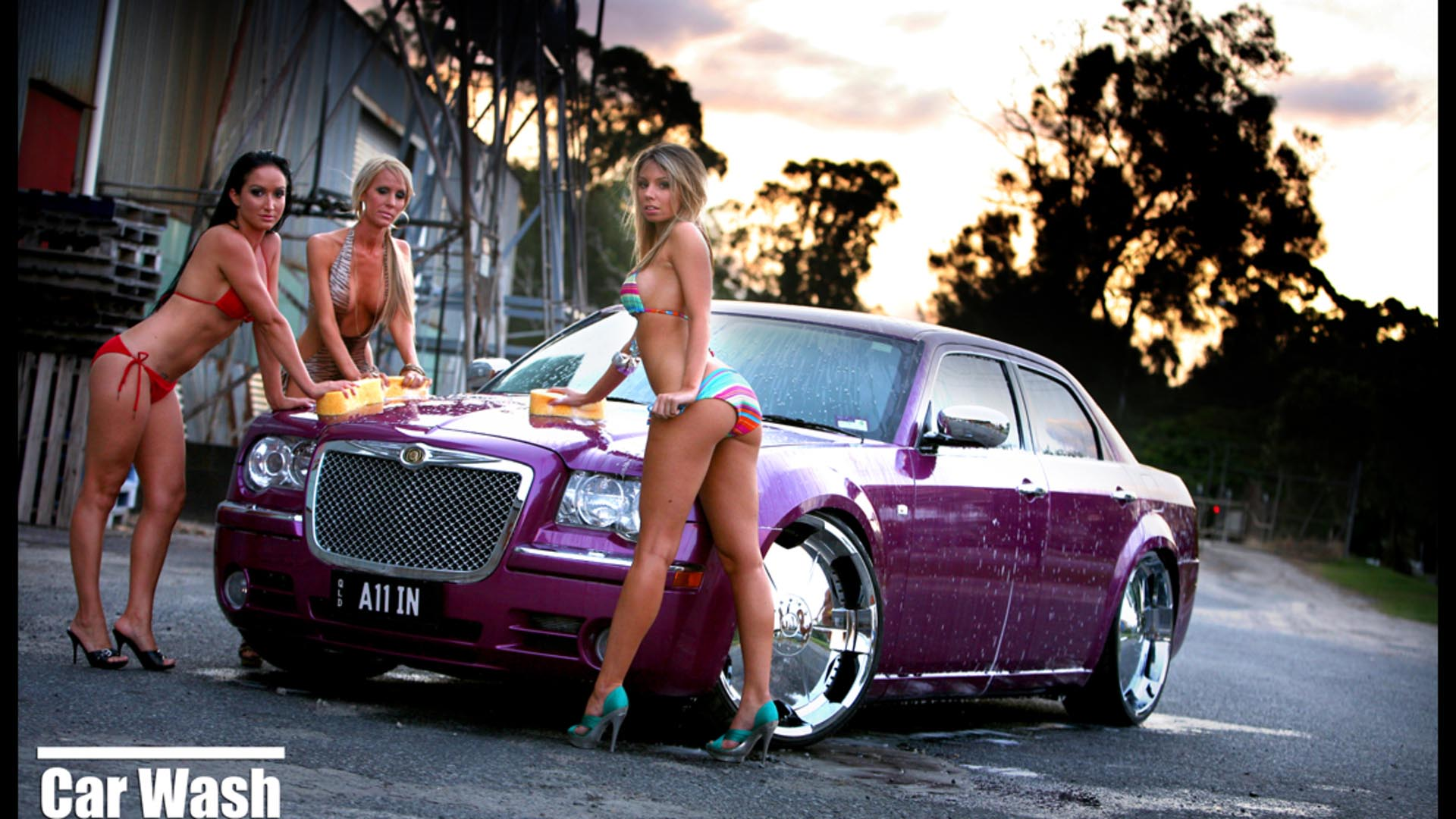 Car babe pictures