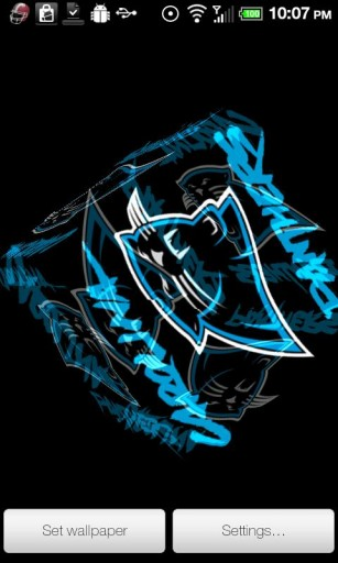 Carolina Panthers Live Wallpaper