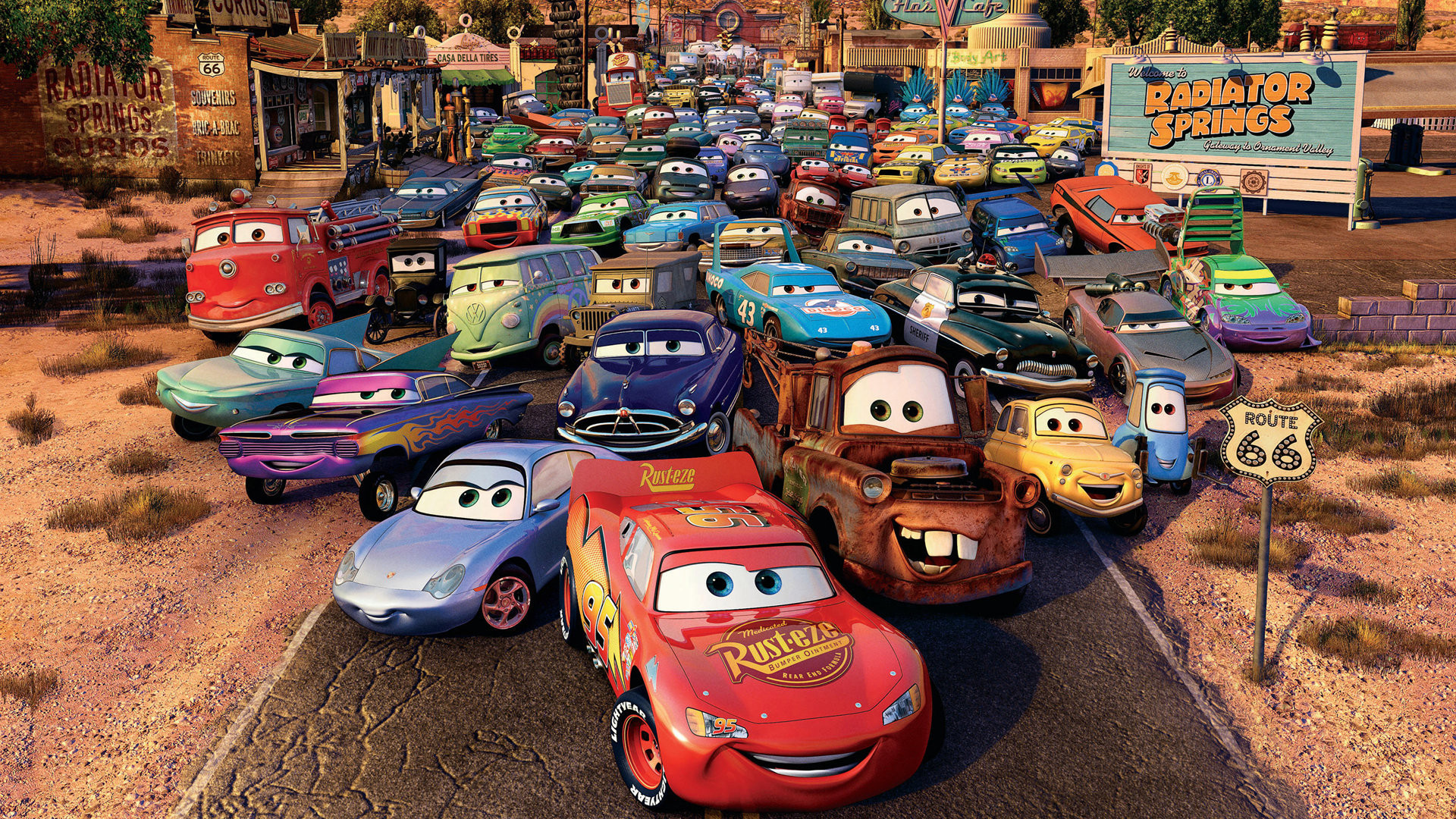 Cars 1 Wallpaper