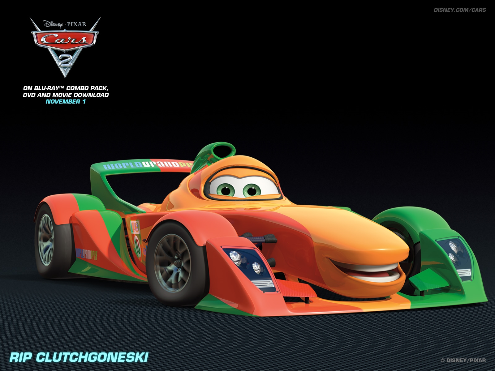 Cars 2 Wallpaper Free Download