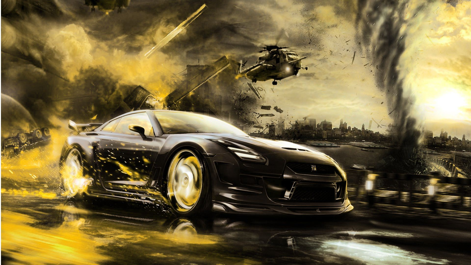 Cars Background Wallpaper