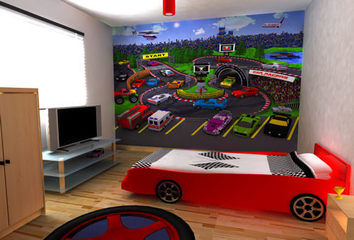 Cars Wallpaper Bedroom