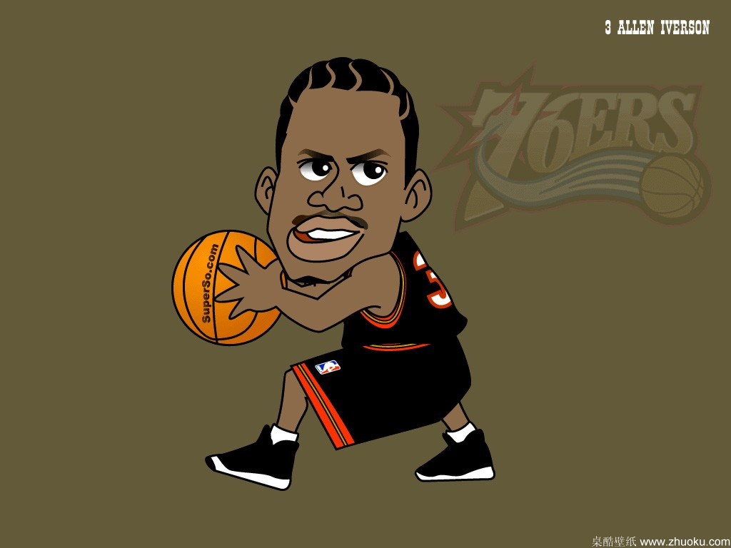 Cartoon Basketball Wallpaper