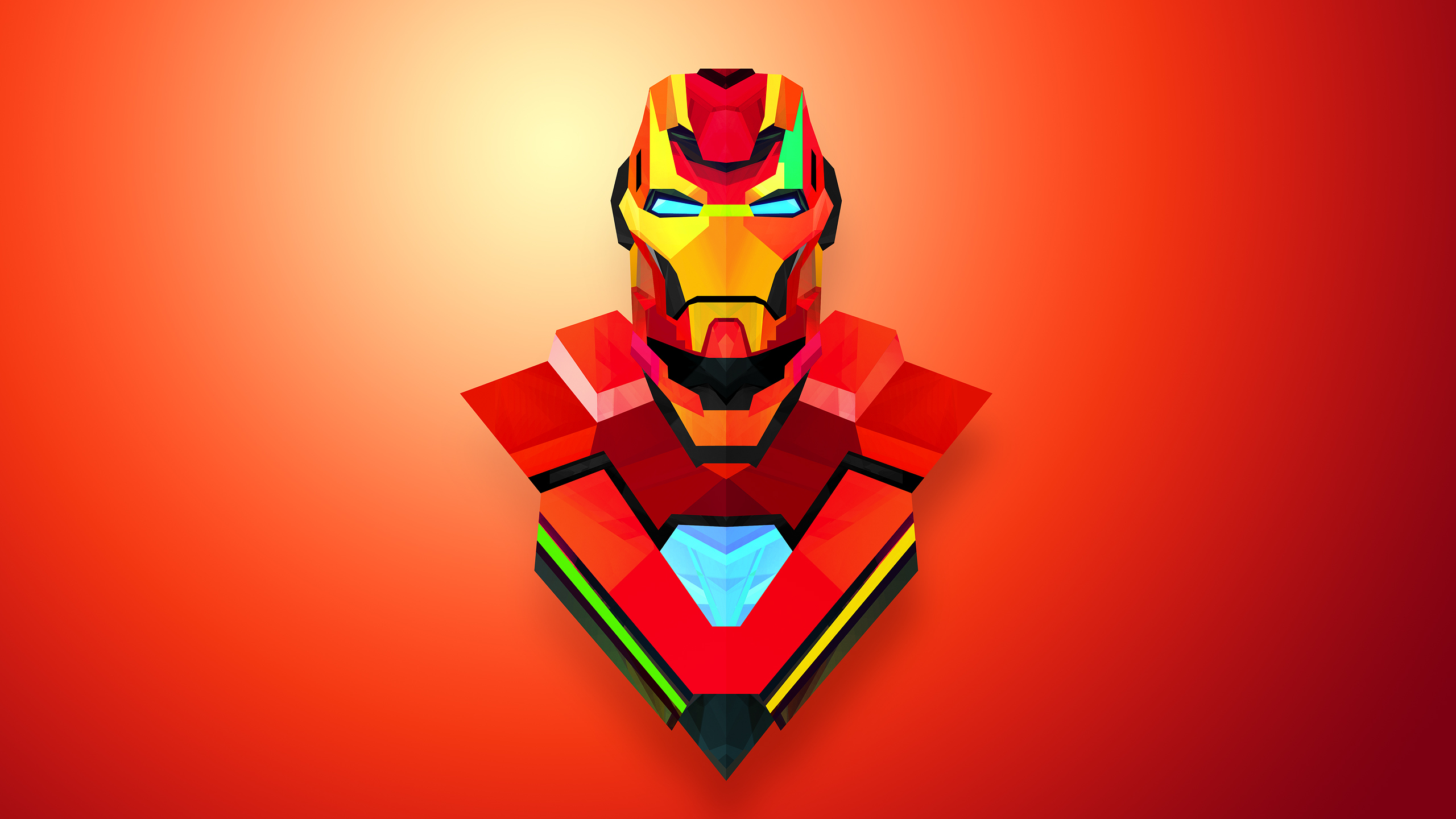 Cartoon Iron Man Wallpaper