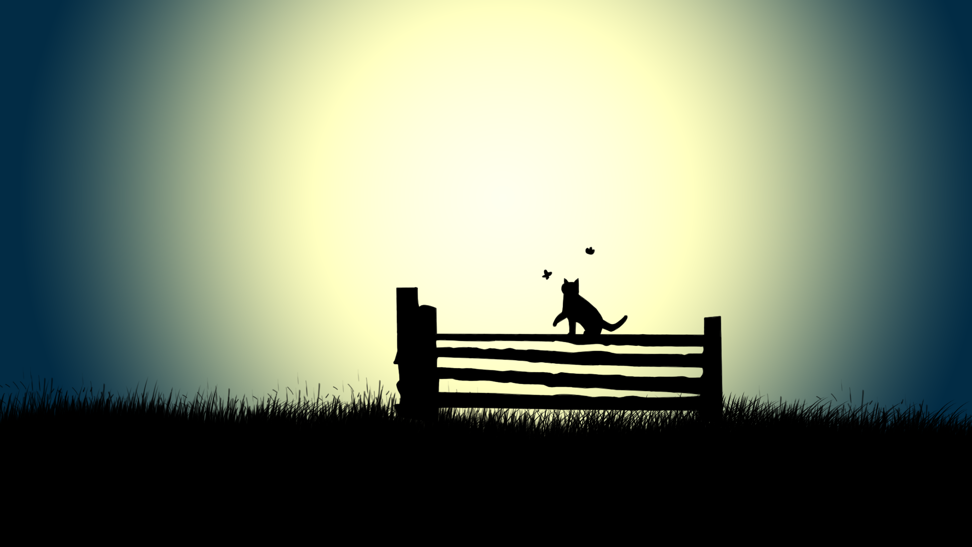 Download Cat Silhouette Wallpaper Gallery