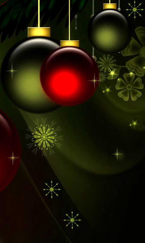 Cell Phone Christmas Wallpaper