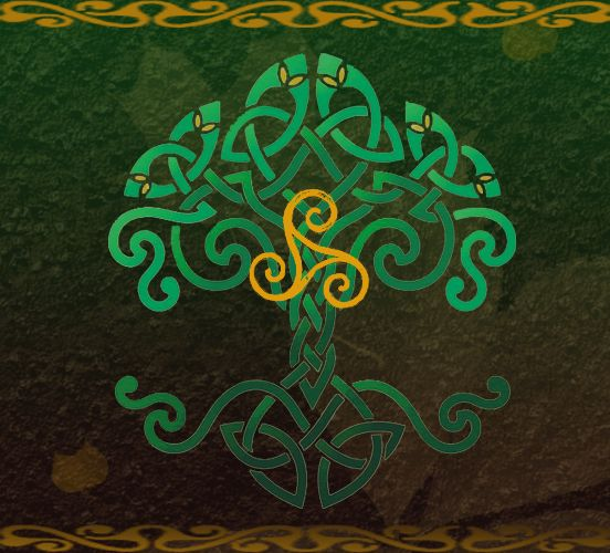 Celtic Tree Of Life Wallpaper