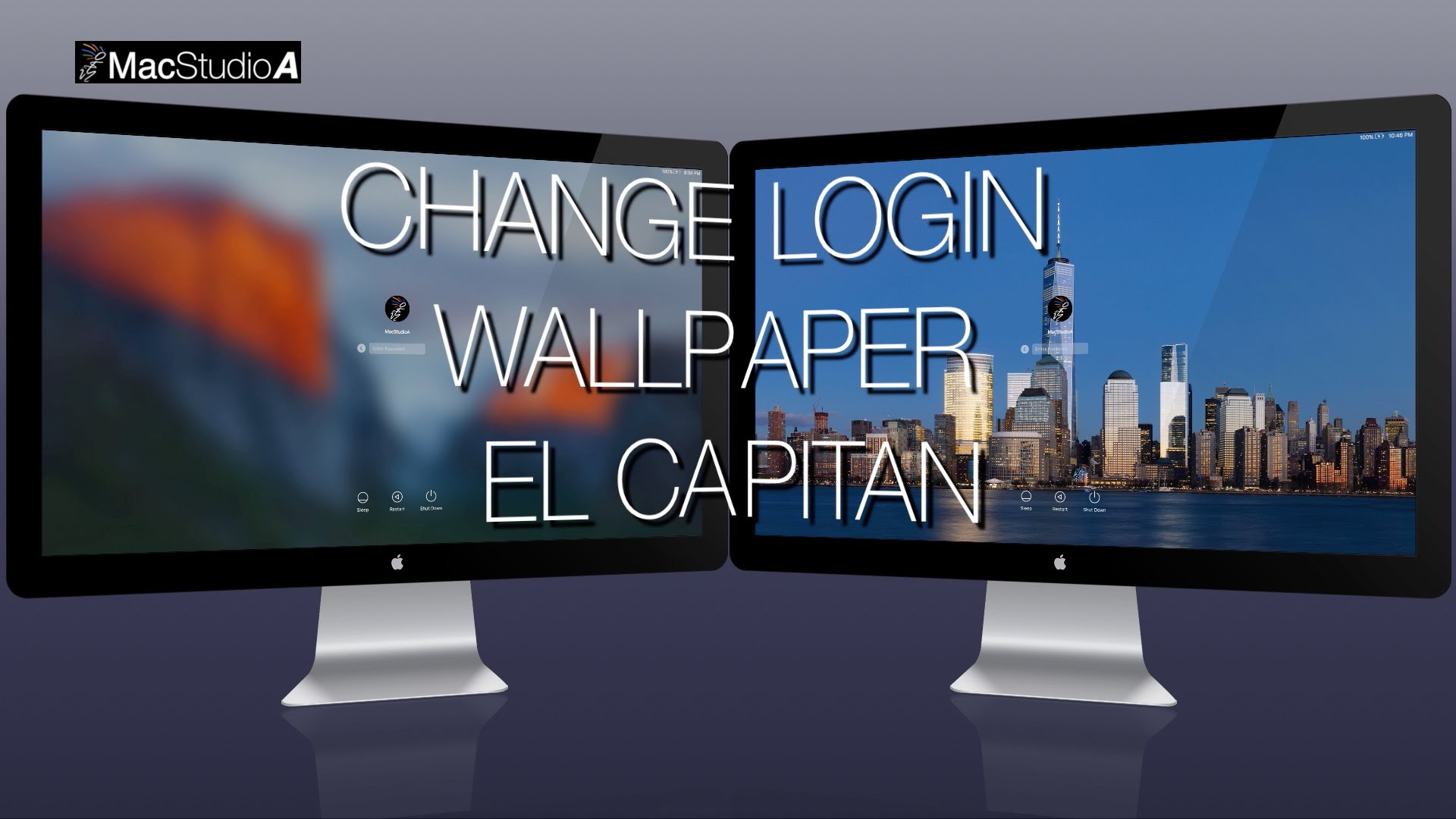 Change Login Wallpaper