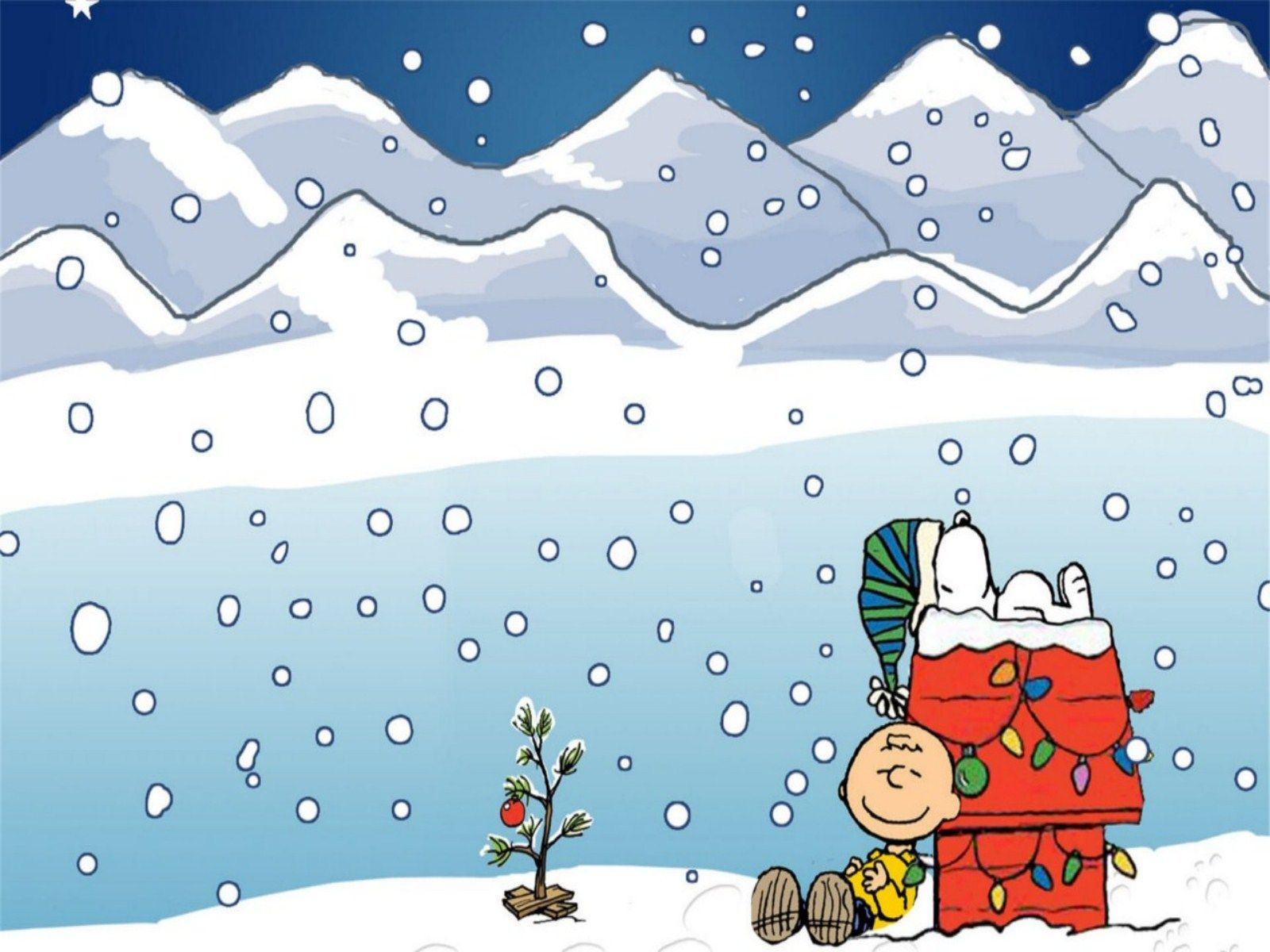 Charlie Brown Christmas Wallpaper Background