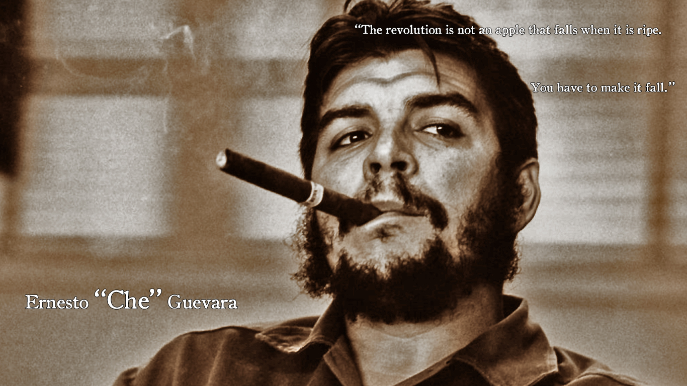 Che Guevara Wallpapers With Quotes