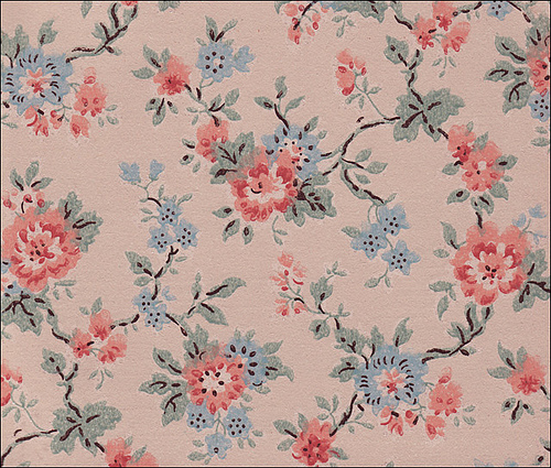 Cheap Floral Wallpaper