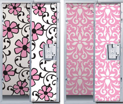 Cheap Magnetic Locker Wallpaper