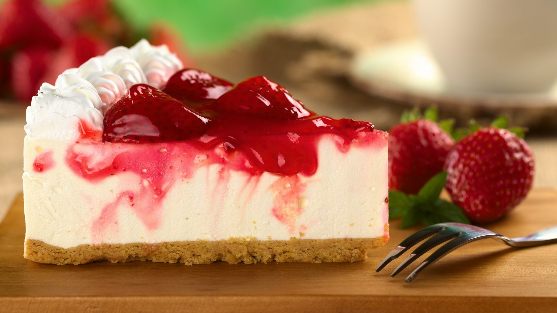 Cheesecake Wallpaper