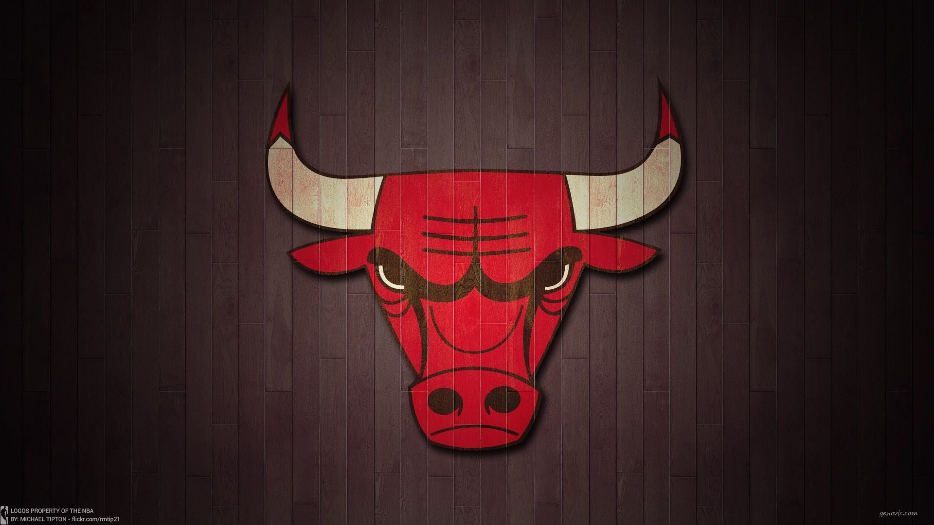 Chicago Bulls Logo Wallpaper
