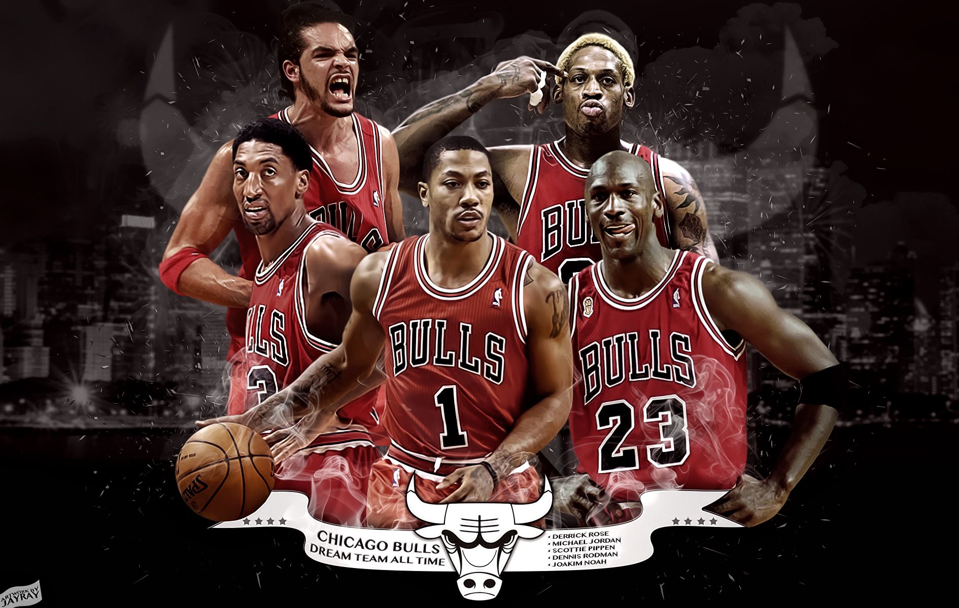 Chicago Bulls Team Wallpaper