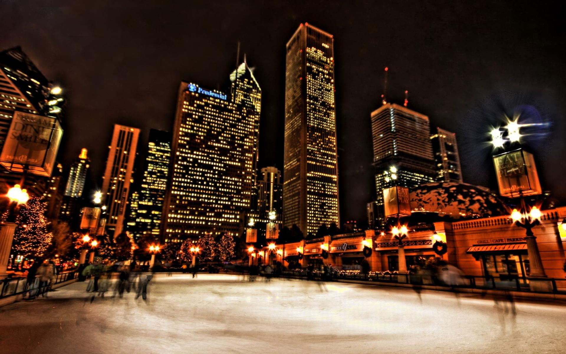 Chicago Christmas Wallpaper