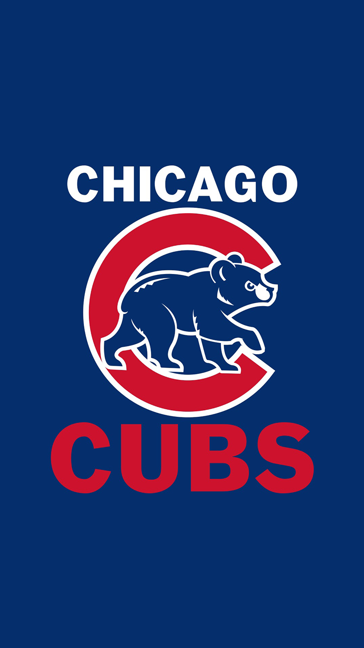 chicago cubs logo wallpaper iphone wwwimgkidcom the