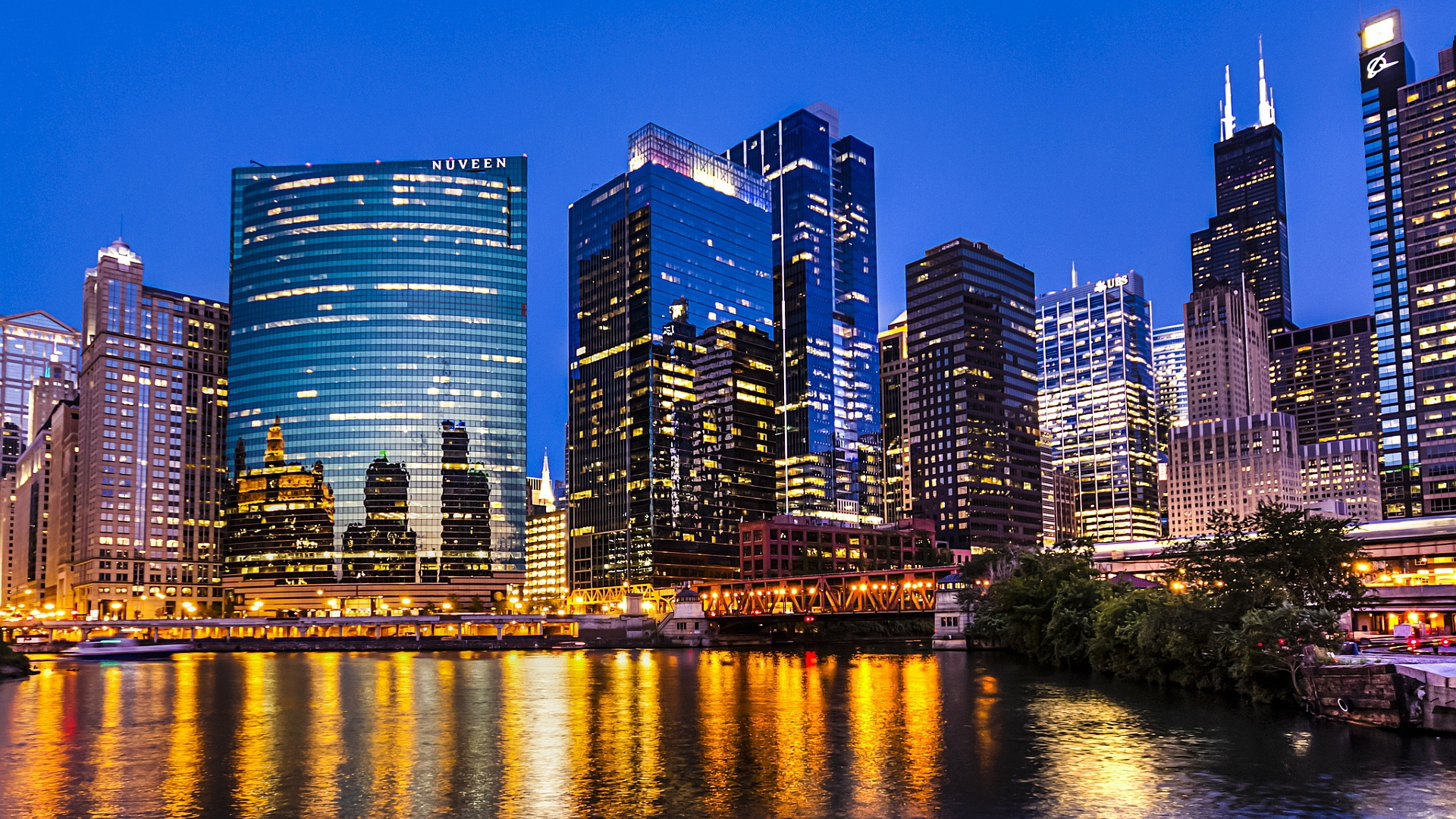 Chicago Downtown Wallpaper