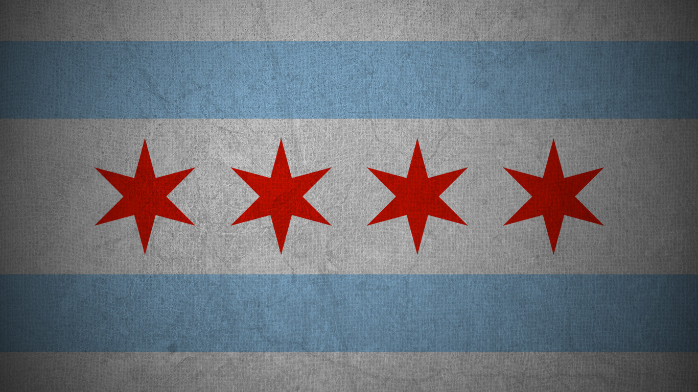 Mercedes Benz Of Chicago >> Download Chicago Flag Wallpaper Gallery