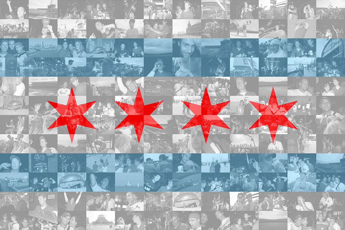 Download Chicago Flag Wallpaper Gallery