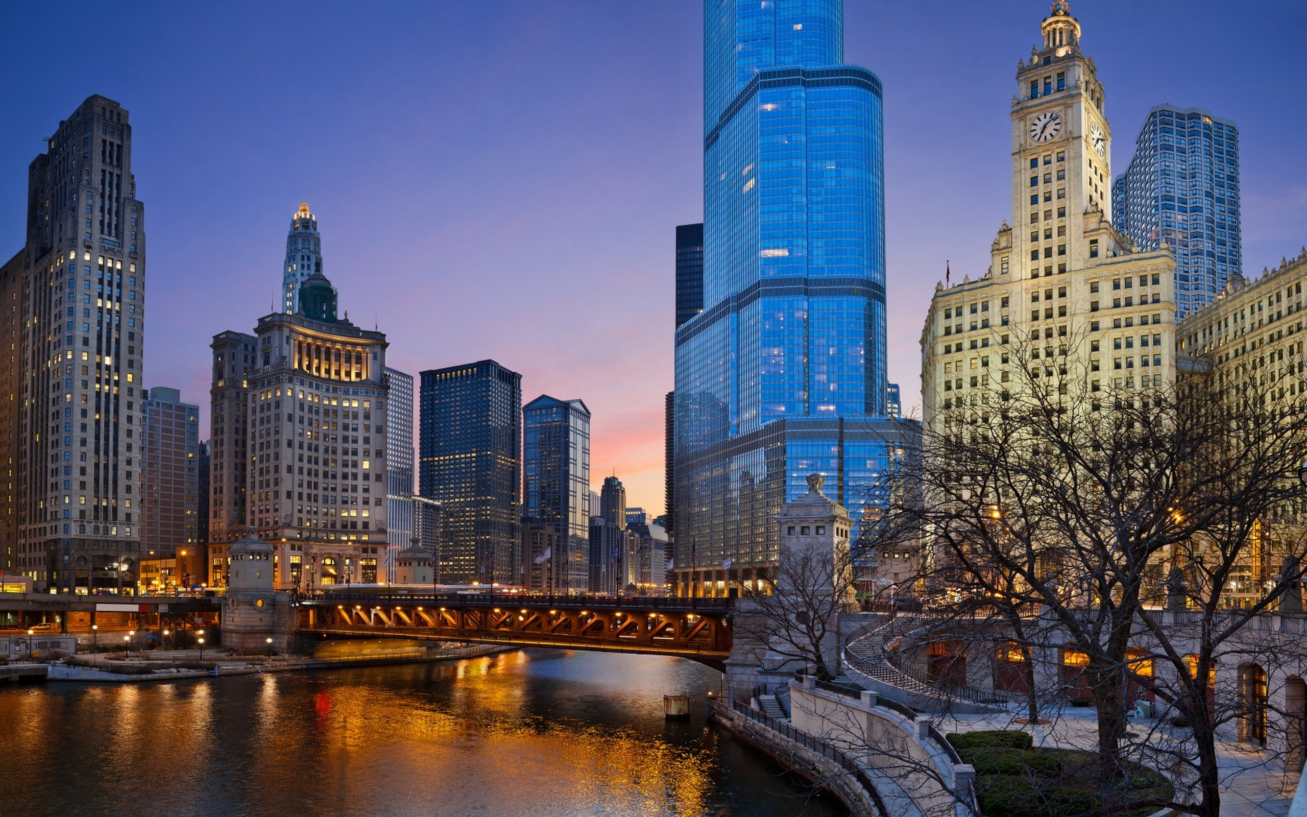 Chicago Illinois Wallpaper