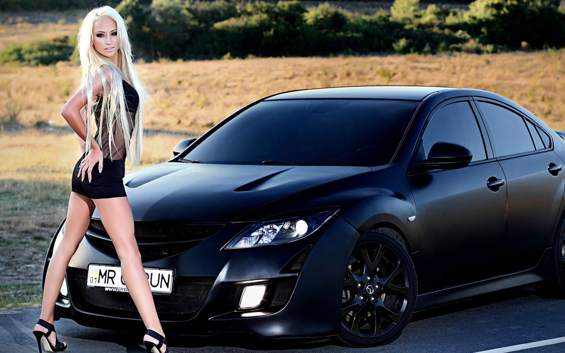 Chicks And Cars Wallpapers