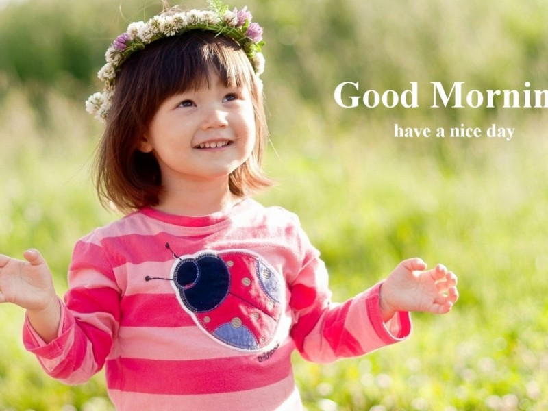 Download child good morning wallpaper gallery - Children s day images download ...