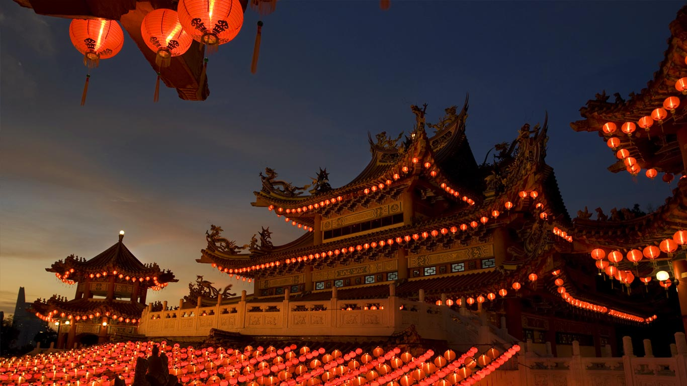 Wallpaper Gallery: Download Chinese Temple Wallpaper Gallery