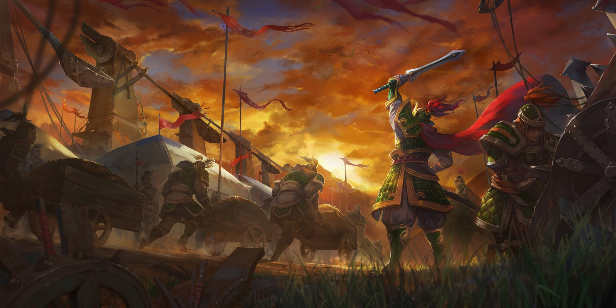 Download Chinese Warrior Wallpaper Gallery