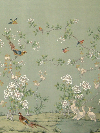 Chinoiserie Wallpaper