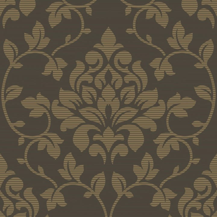 download chocolate brown damask wallpaper gallery