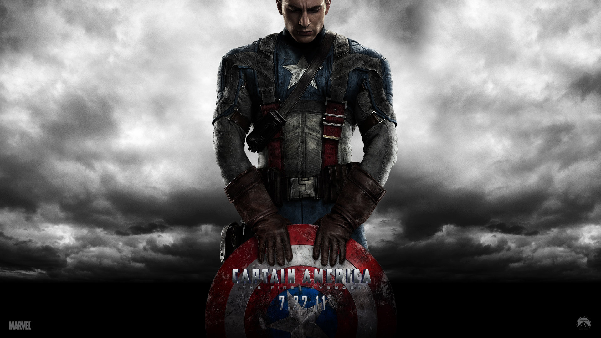 Chris Evans Captain America Wallpaper