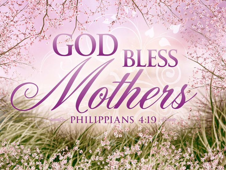 Christian Mothers Day Wallpaper